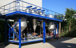STC Lead Oxide Regeneration - Pilot Plant